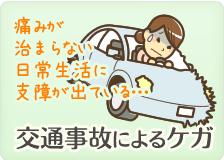 交通事故によるケガ